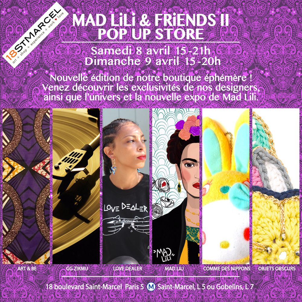 MAD LiLi & FRiENDS II ♡♕ Pop Up Store