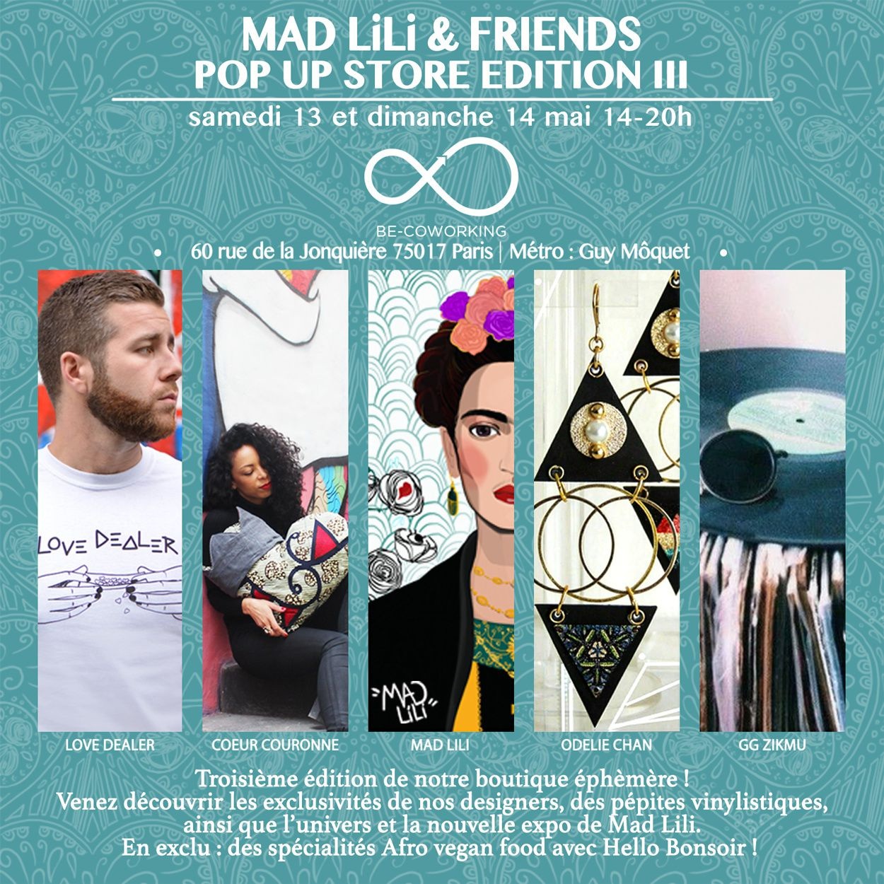 MAD LiLi &amp&#x3B; FRiENDS III ♡♕ Pop Up Store