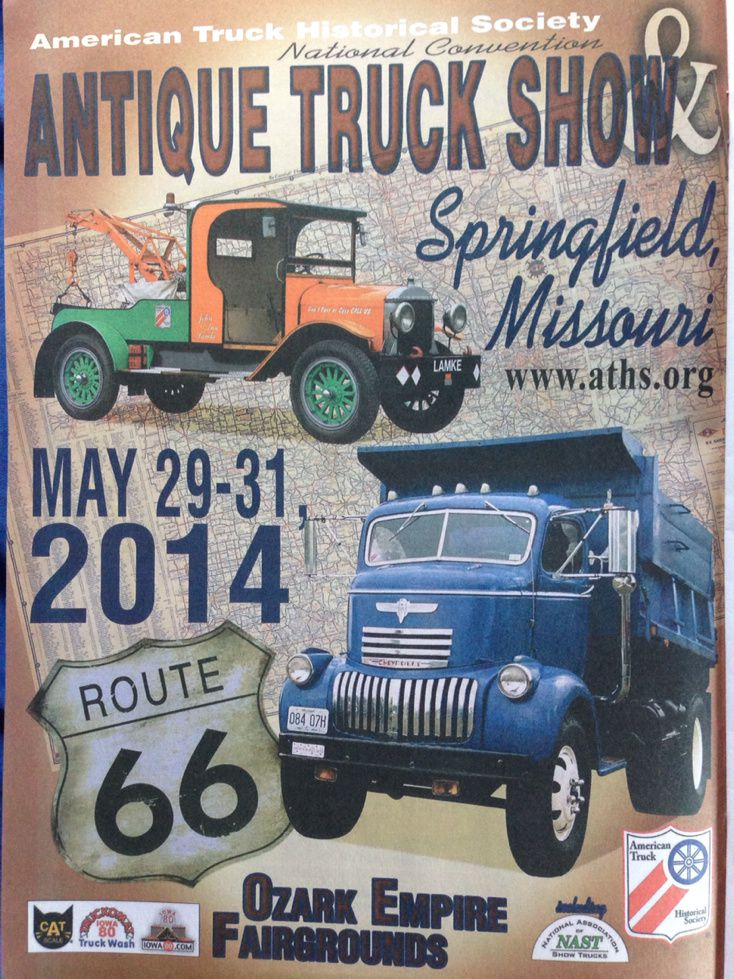 Antique truck show