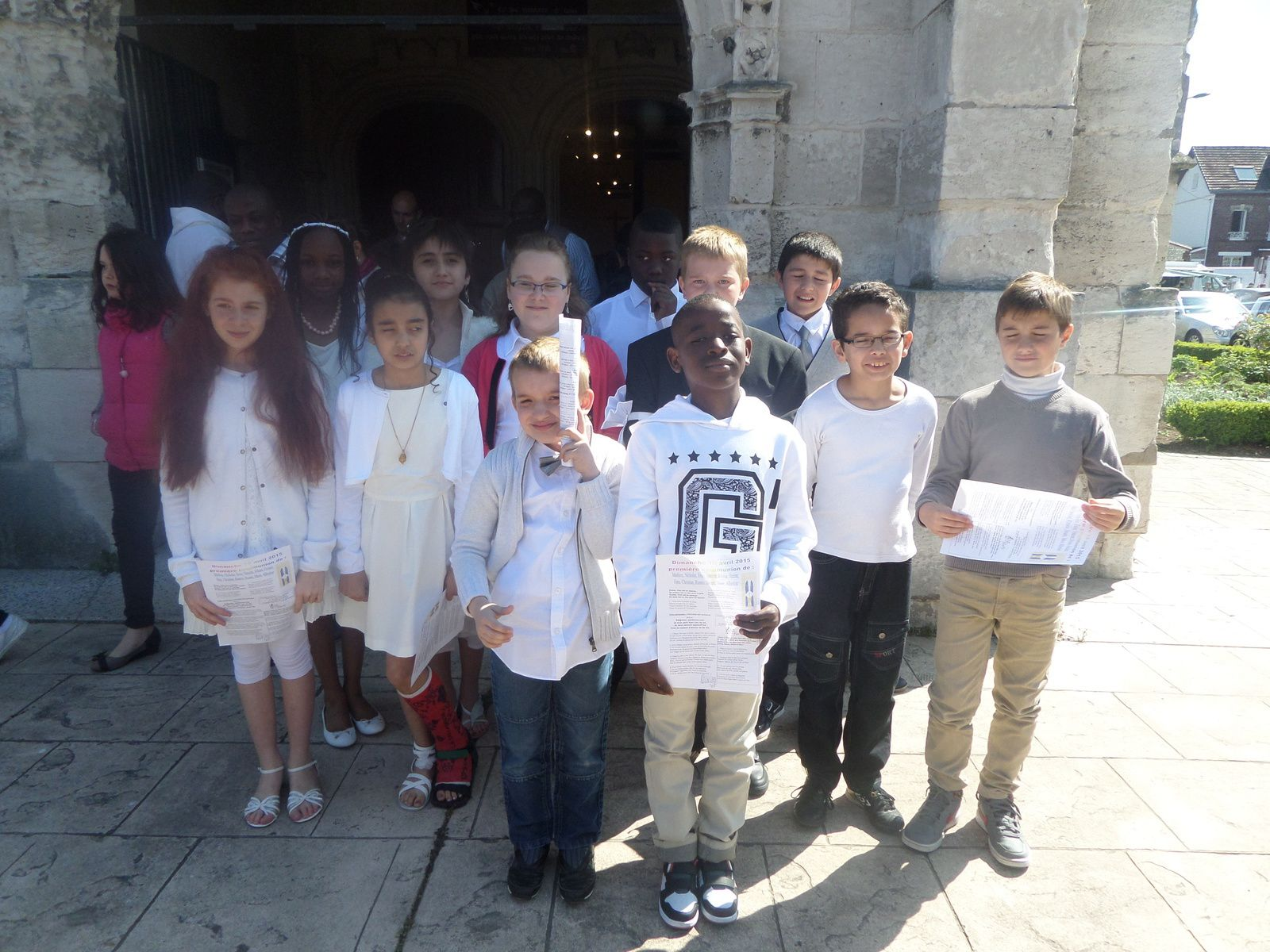 1ère communion 2015
