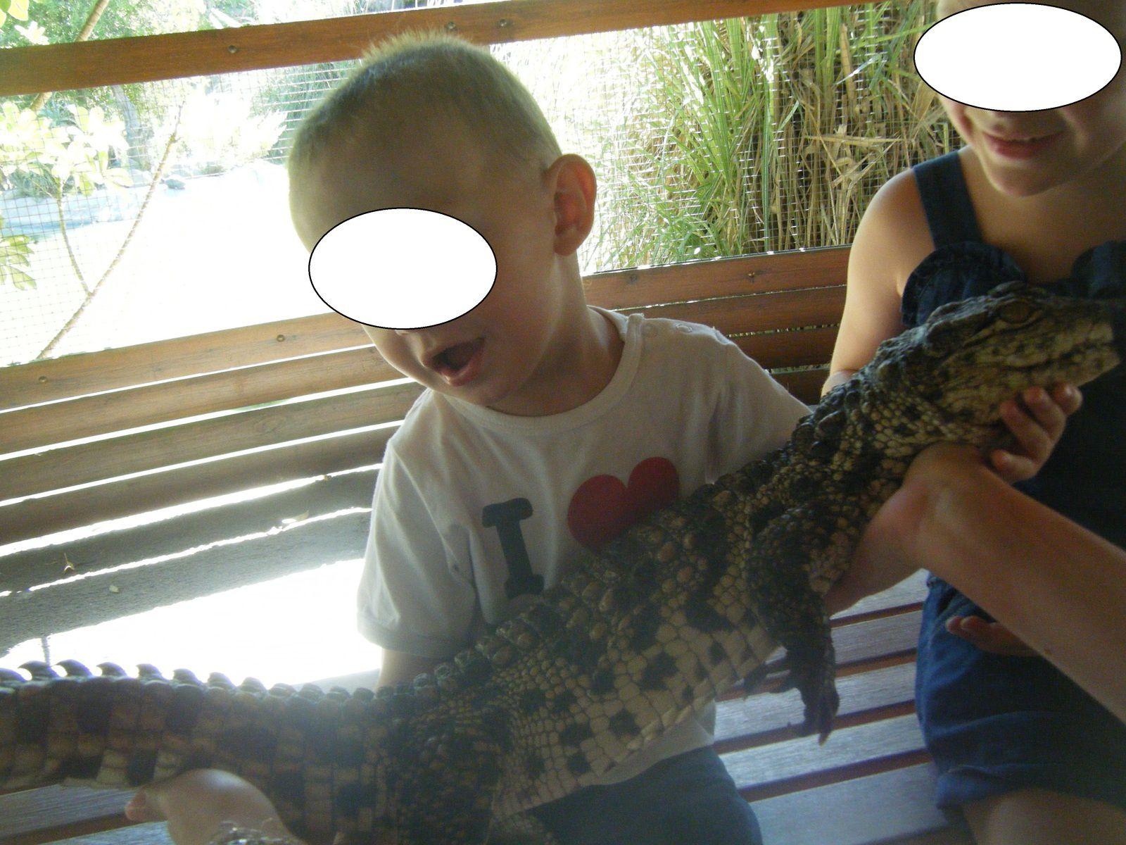 Ce bébé est en fait déjà grand! Si à la naissance, un petit pèse à peine 500g pour 12 cm, il prend 30 cm par an pour devenir adulte entre 12 et 15 ans. celui-ci avait 2 ans.