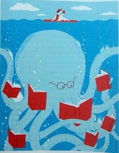 """Cada lector lee a su ritmo"". (Chaque lecteur lit à son rythme) www.quelibroleo.com"