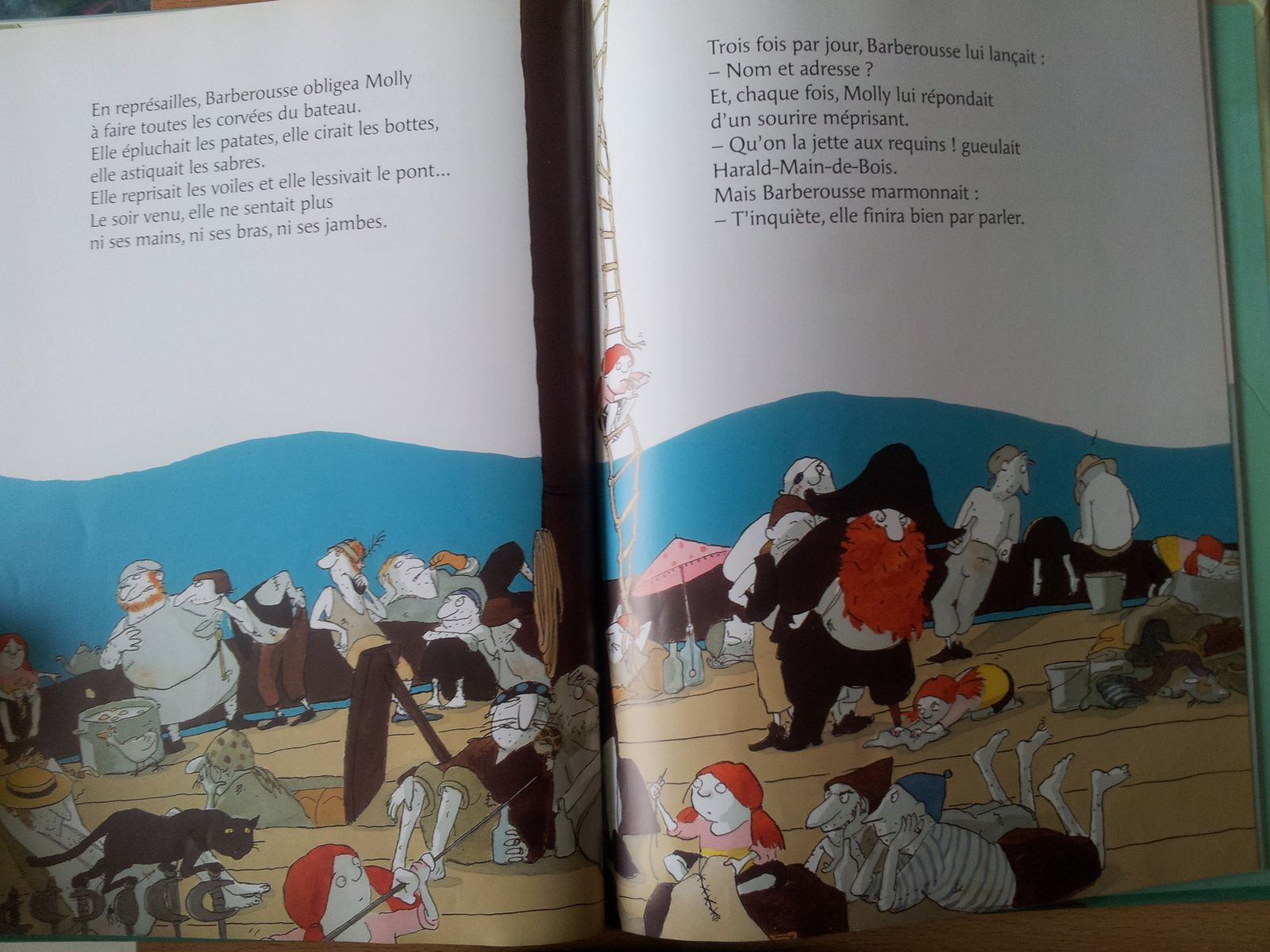 Capitaine Barberousse et sa bande d'affreux. Cornelia FUNKE et Kerstin MEYER. (Dès 4 ans)