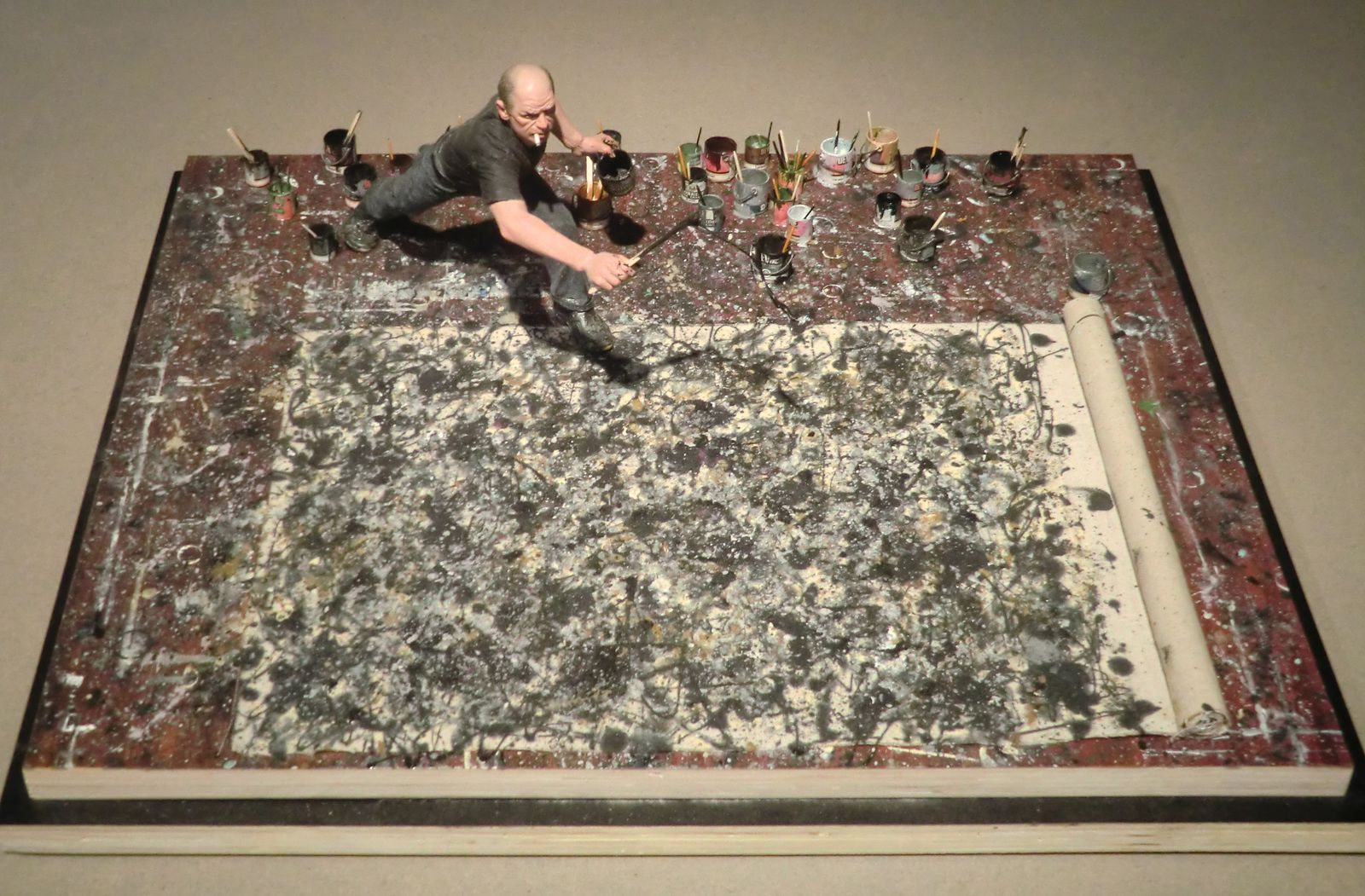 Je trouve cette photo sublime, et vous? http://arteide.org/en/artworks/jackson-pollock-painting