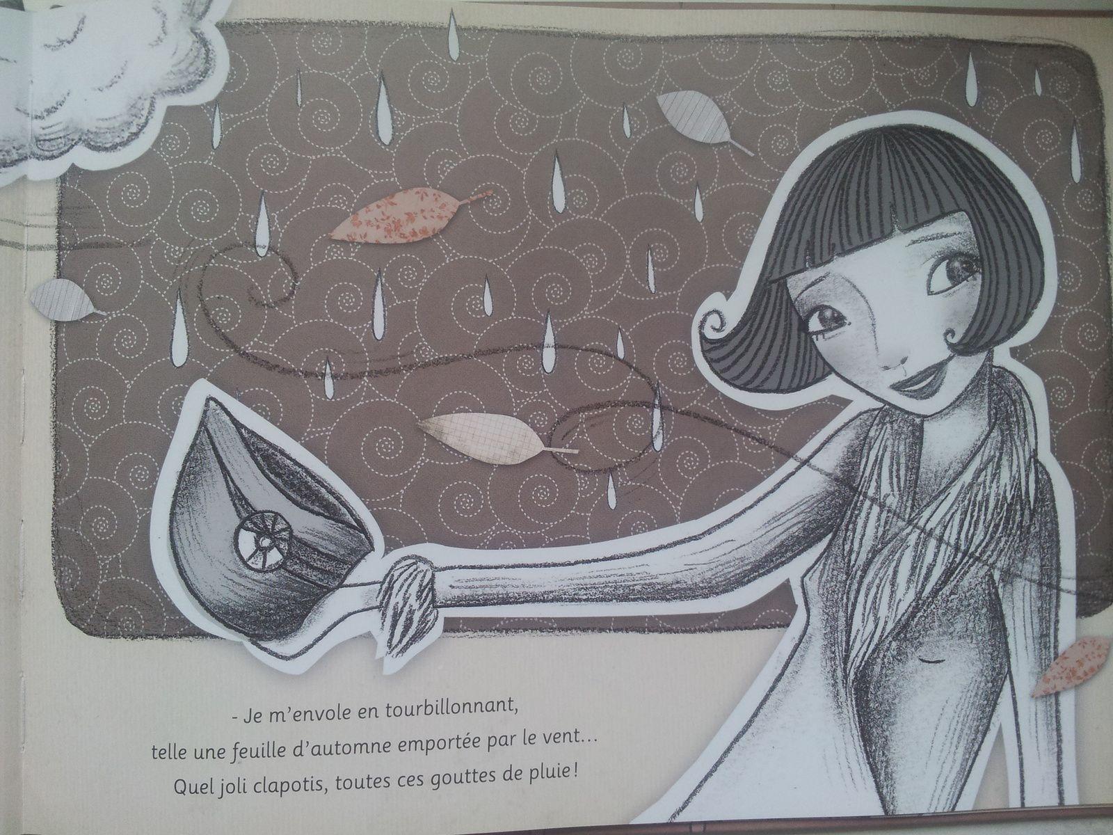Sous la pluie… Texte de Nancy GUILBERT et illustrations de Lilly SEEWALD (Dès 4 ans)