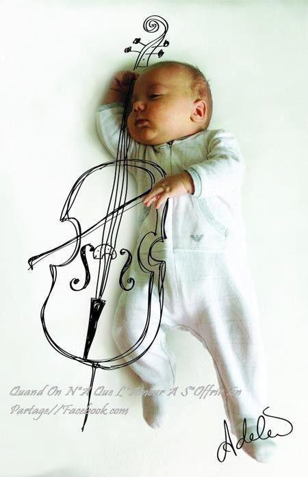 « La musique met l'âme en harmonie avec tout ce qui existe. » Oscar Wilde. Photo trouvée sur le blog: Humour Actualités Citations et Images.