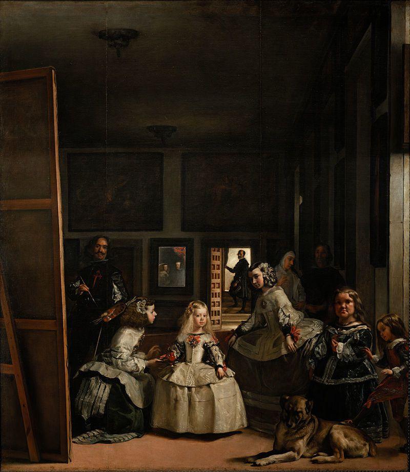 Les Ménines (Les demoiselles d'honneur) -  vers 1656.