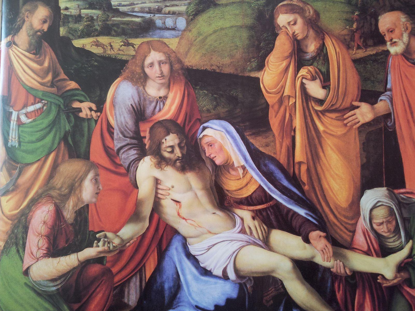 Les lamentations par Andrea Solario (1495-1524)