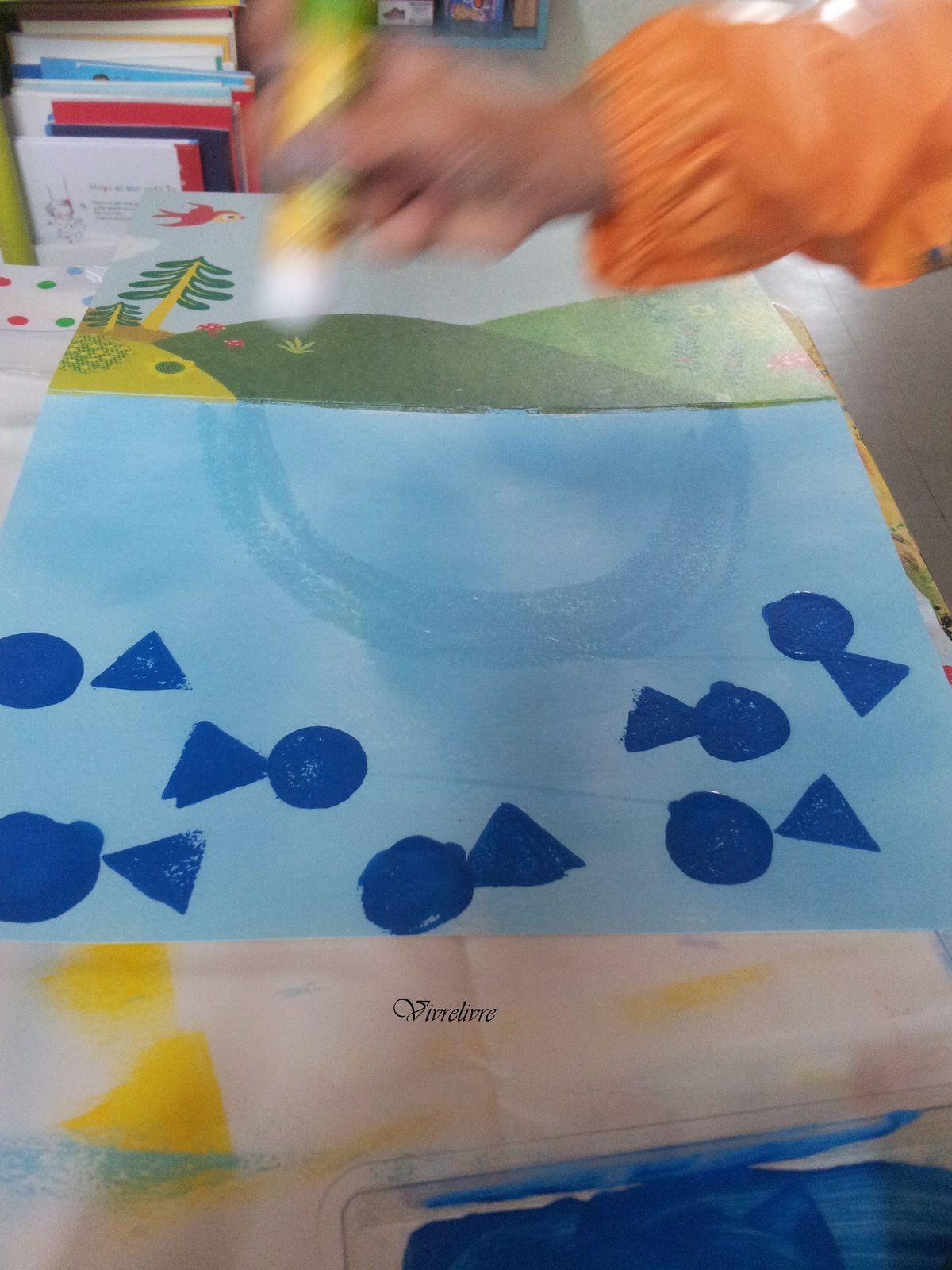 Jouer et découvrir #23 – Coffret Peinture à l'éponge Djeco (Dès 3 ans)