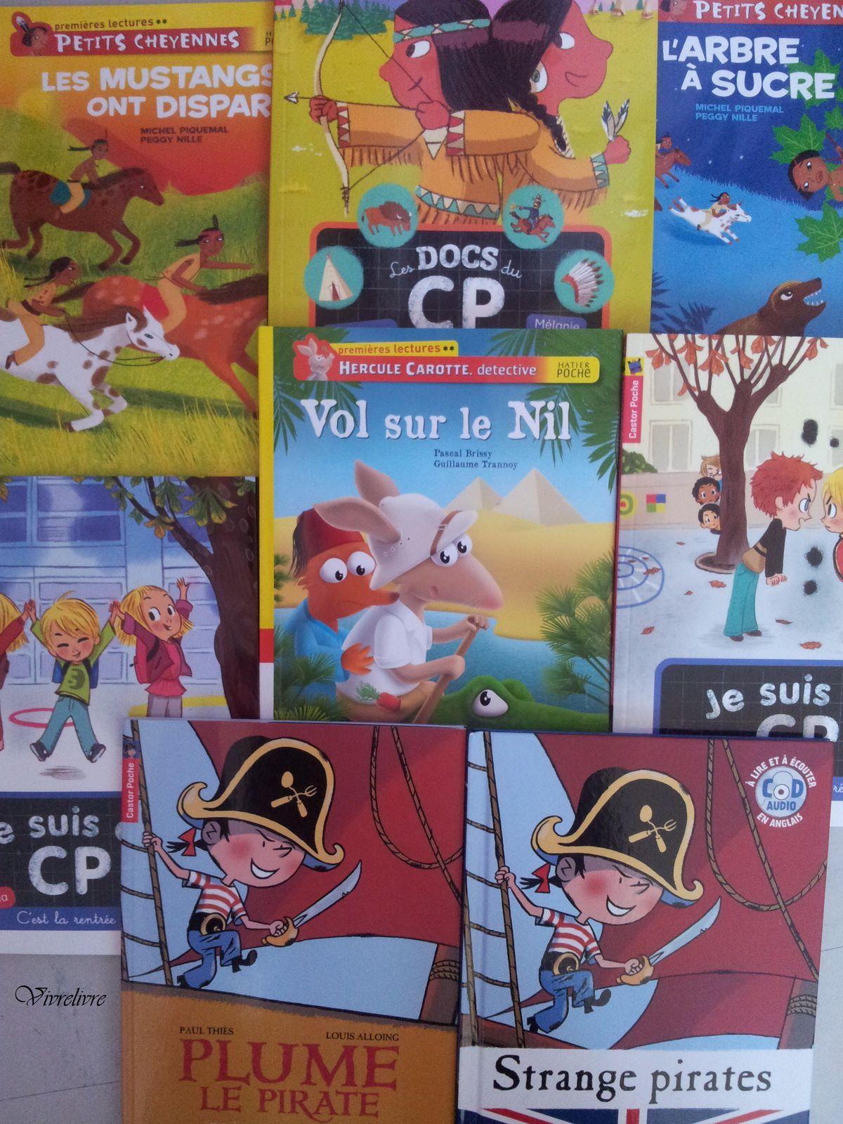 Bibliographie - Premières Lectures / Premiers romans pour jeunes lecteurs. 6-7-8 ans