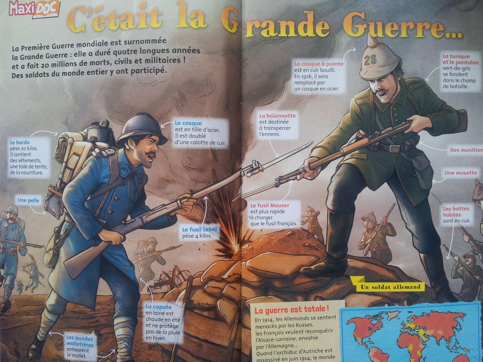 Transmettre : La Grande Guerre dans la Presse Enfant (Dès 7 ans) (Partie 1)
