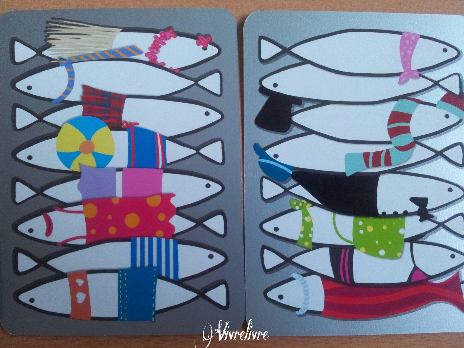 Jouer et découvrir #26 – Jeu de cartes Sardines (Djeco)