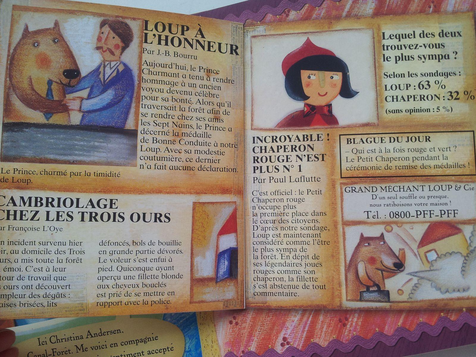 La véritable histoire du Petit Chaperon rouge. Agnese BARUZZI et Sandro NATALINI (Dès 4 ans)