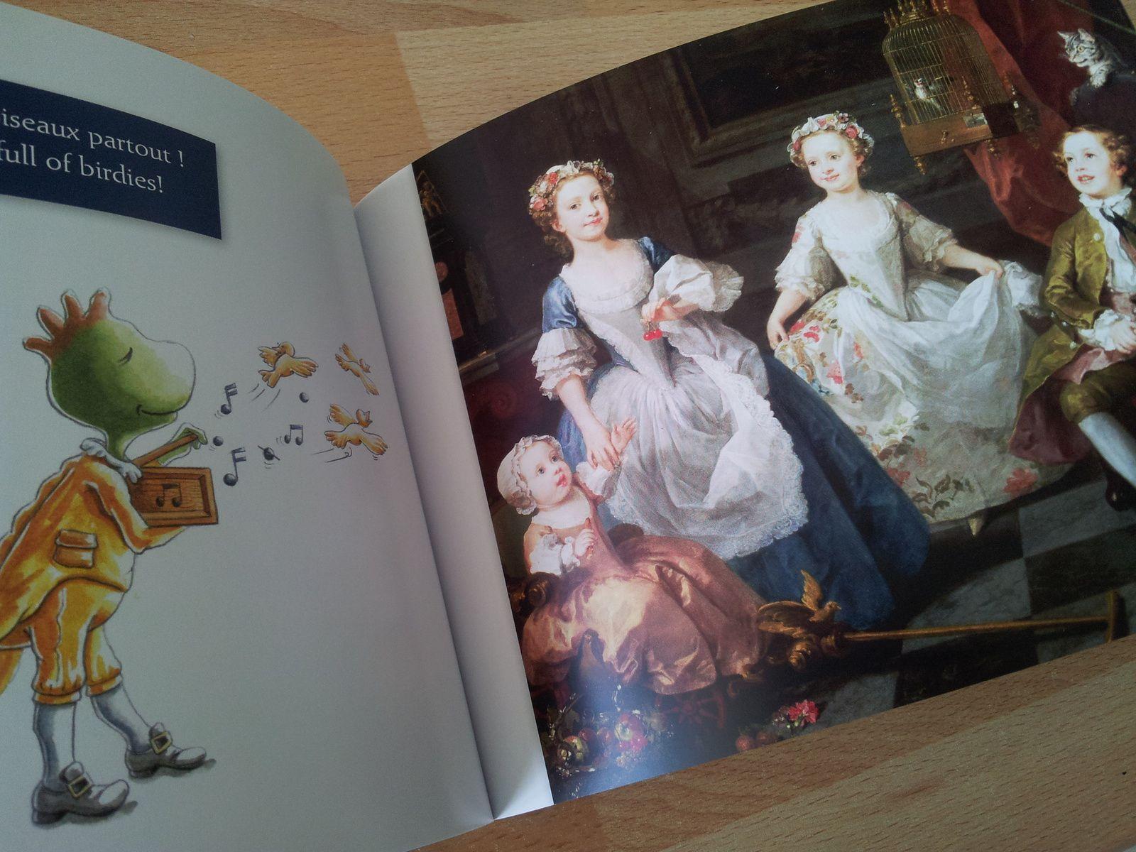 """""""Les enfants Graham"""" de William Hogarth - 1742"""