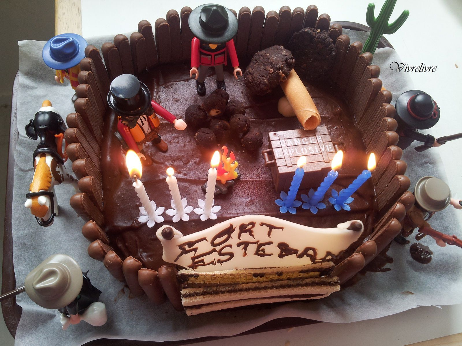 Gateau du far west