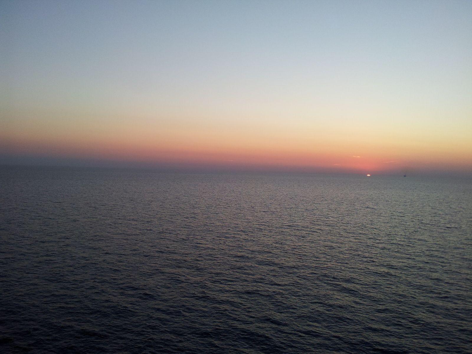 Mer Méditerranée, Corse. Août 2013.