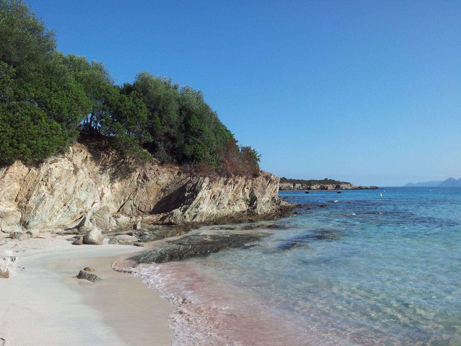 Plage du Lodu, Corse. Août 2013