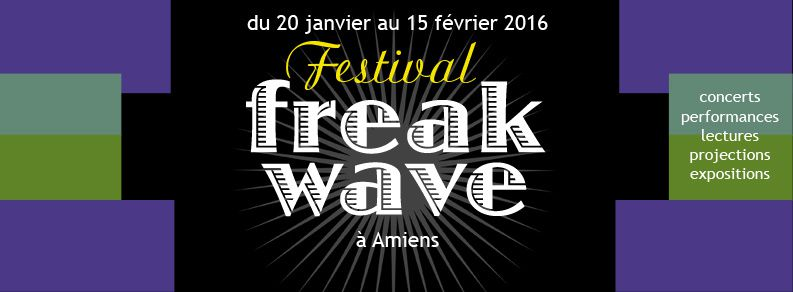 Exposition Freak Wave à la galerie Pop Up