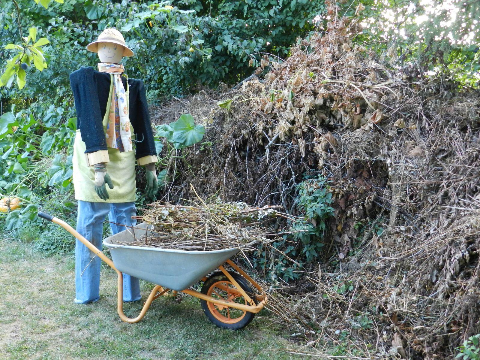 Un peu de d broussaillage pour nettoyer le jardin for Debroussaillage jardin
