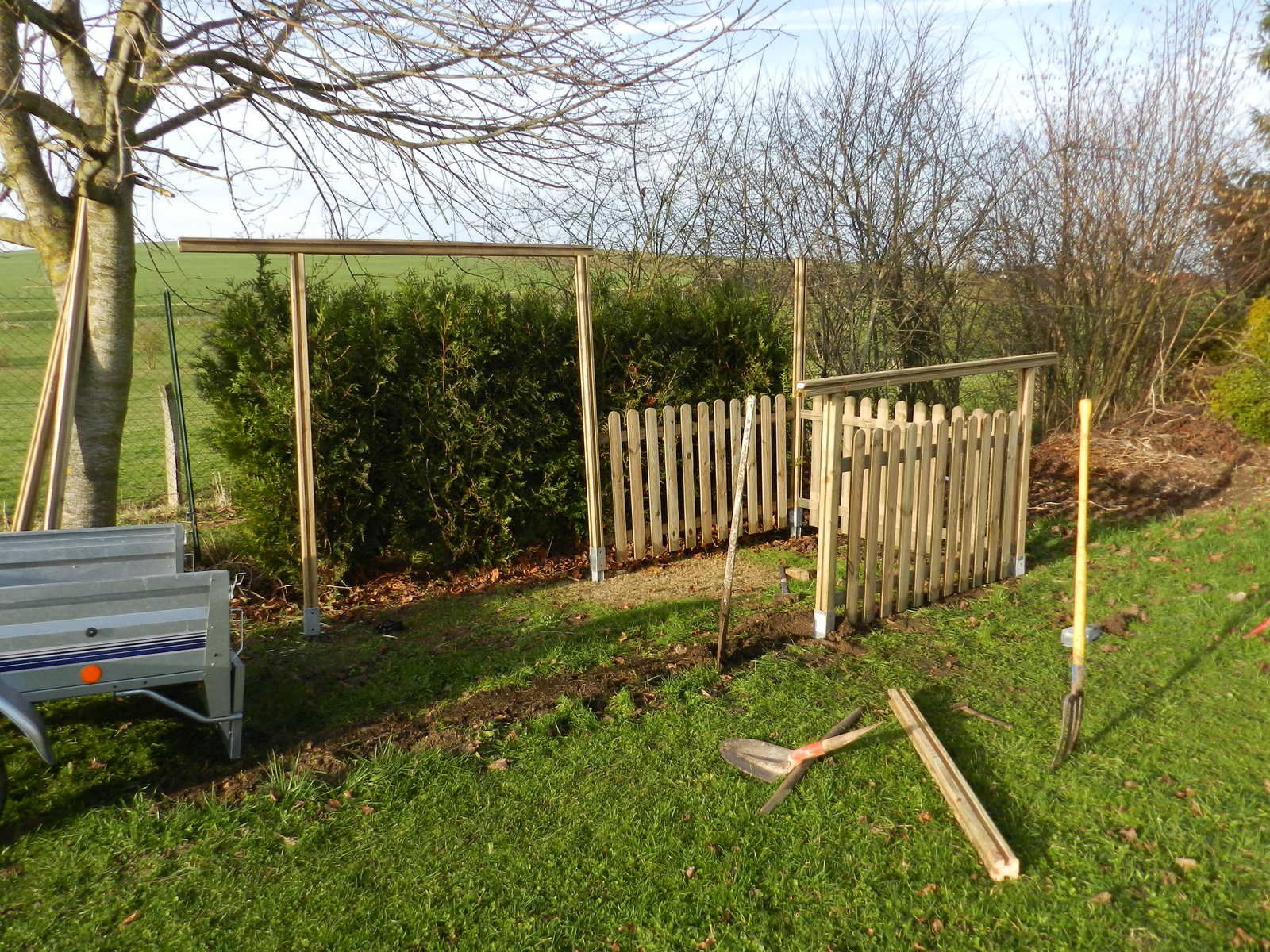 Permis de construire pour abri de jardin construire un for Construire abri jardin