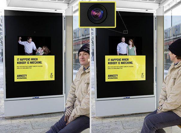 Le marketing sensoriel envahit les abribus !