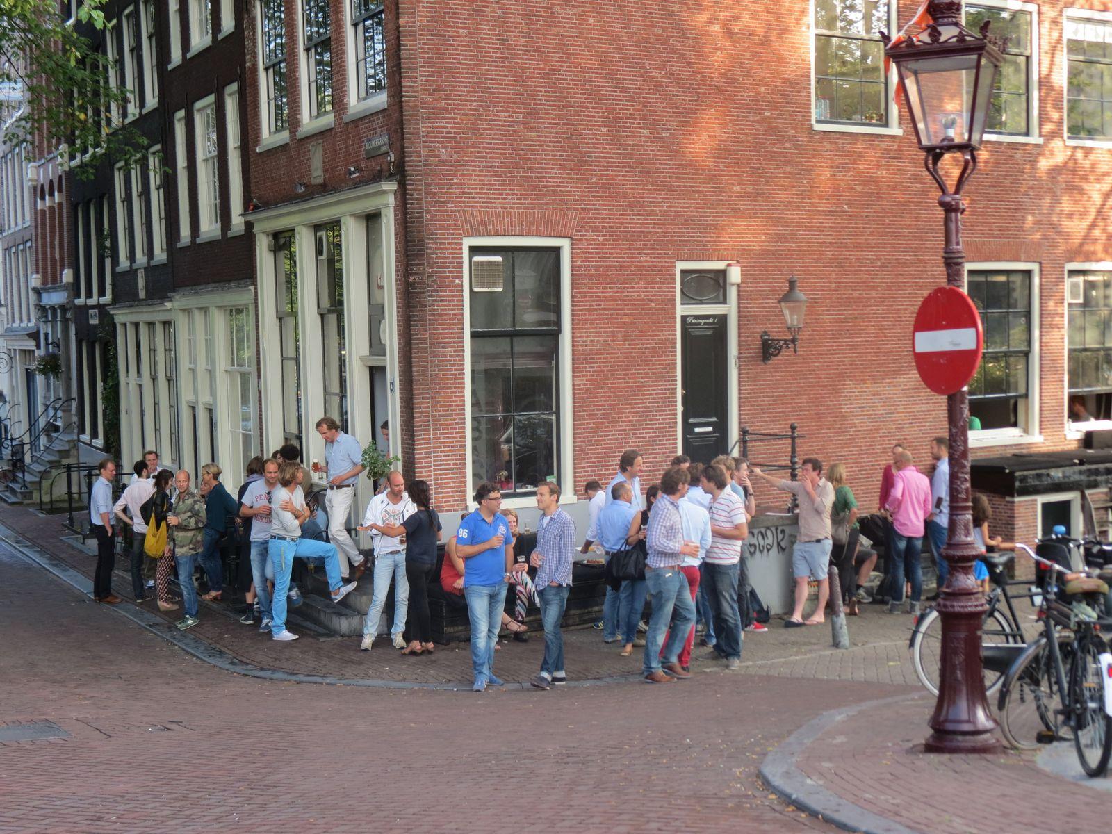 Un tour à Amsterdam