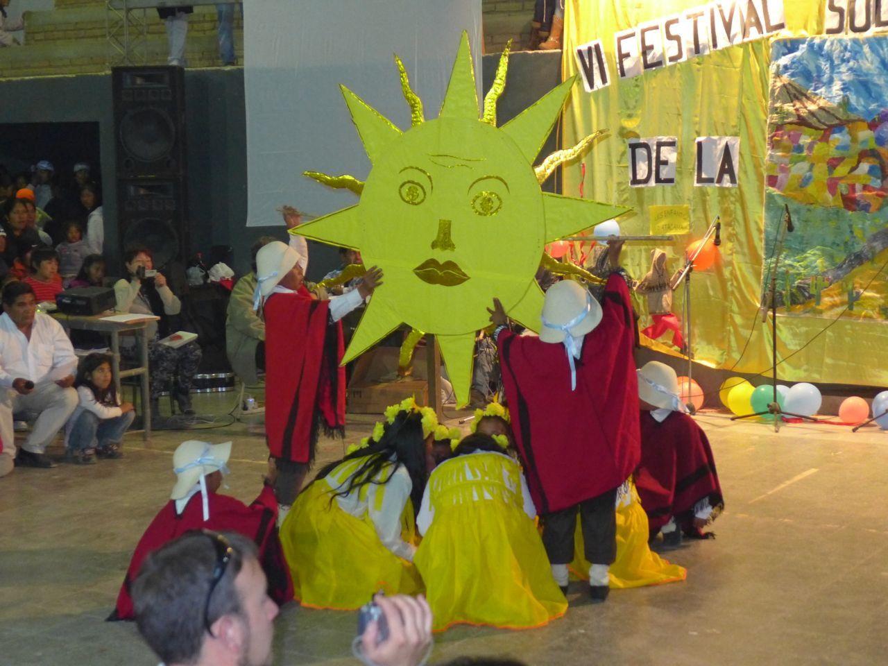 Le festival des niños de la Puna