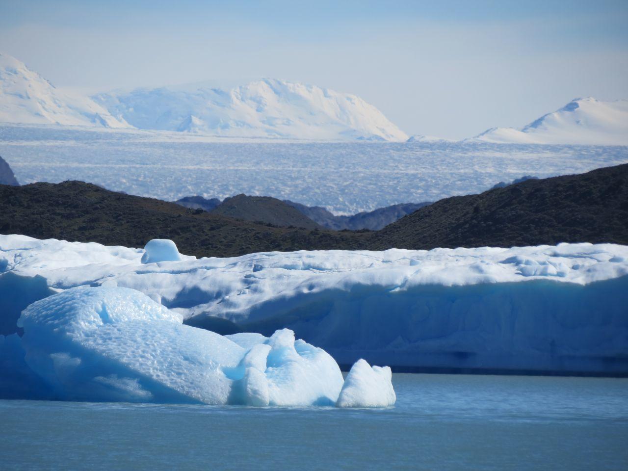 Tour des glaciers en bâteau