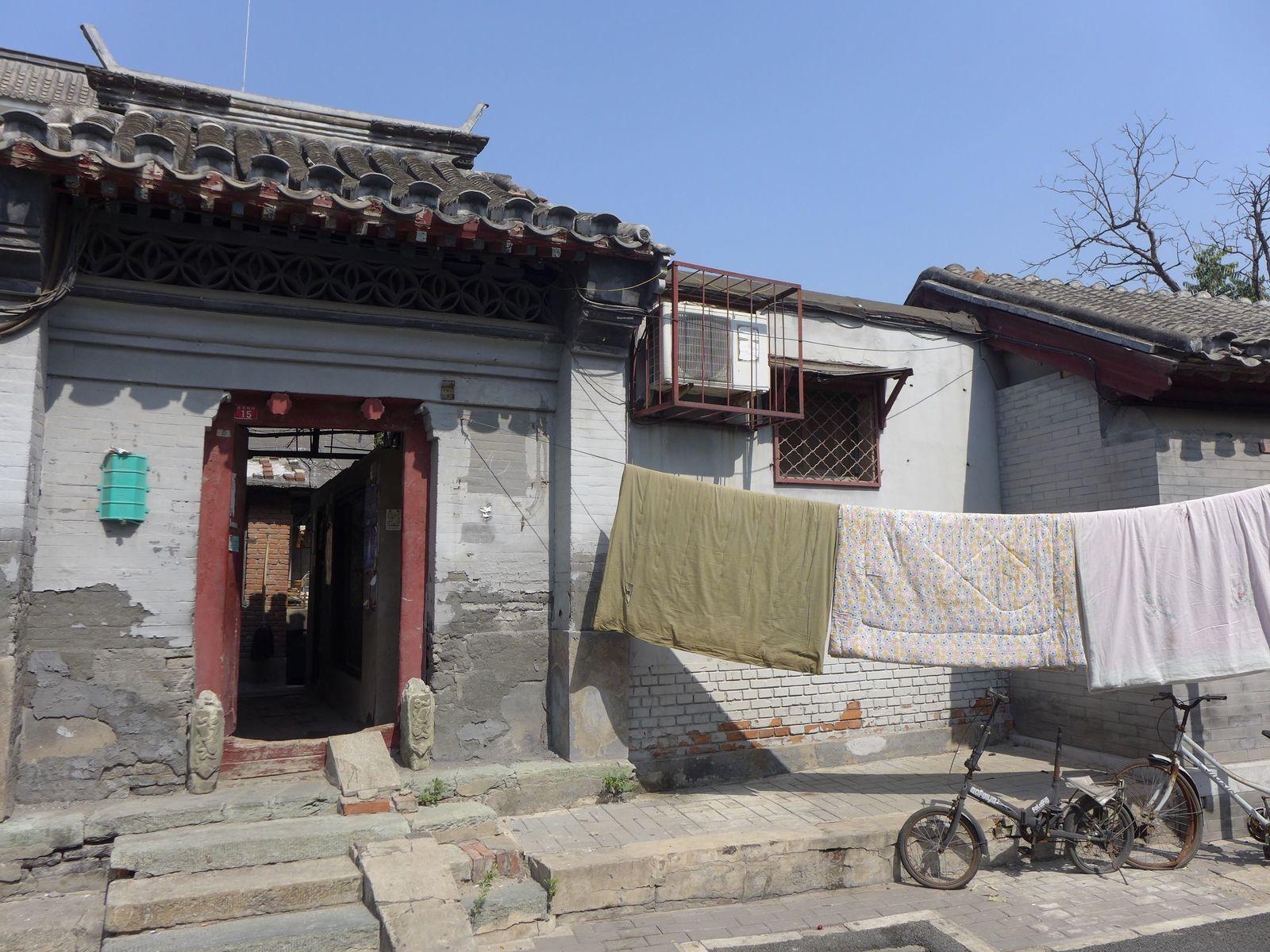 Pekin sous un ciel bleu