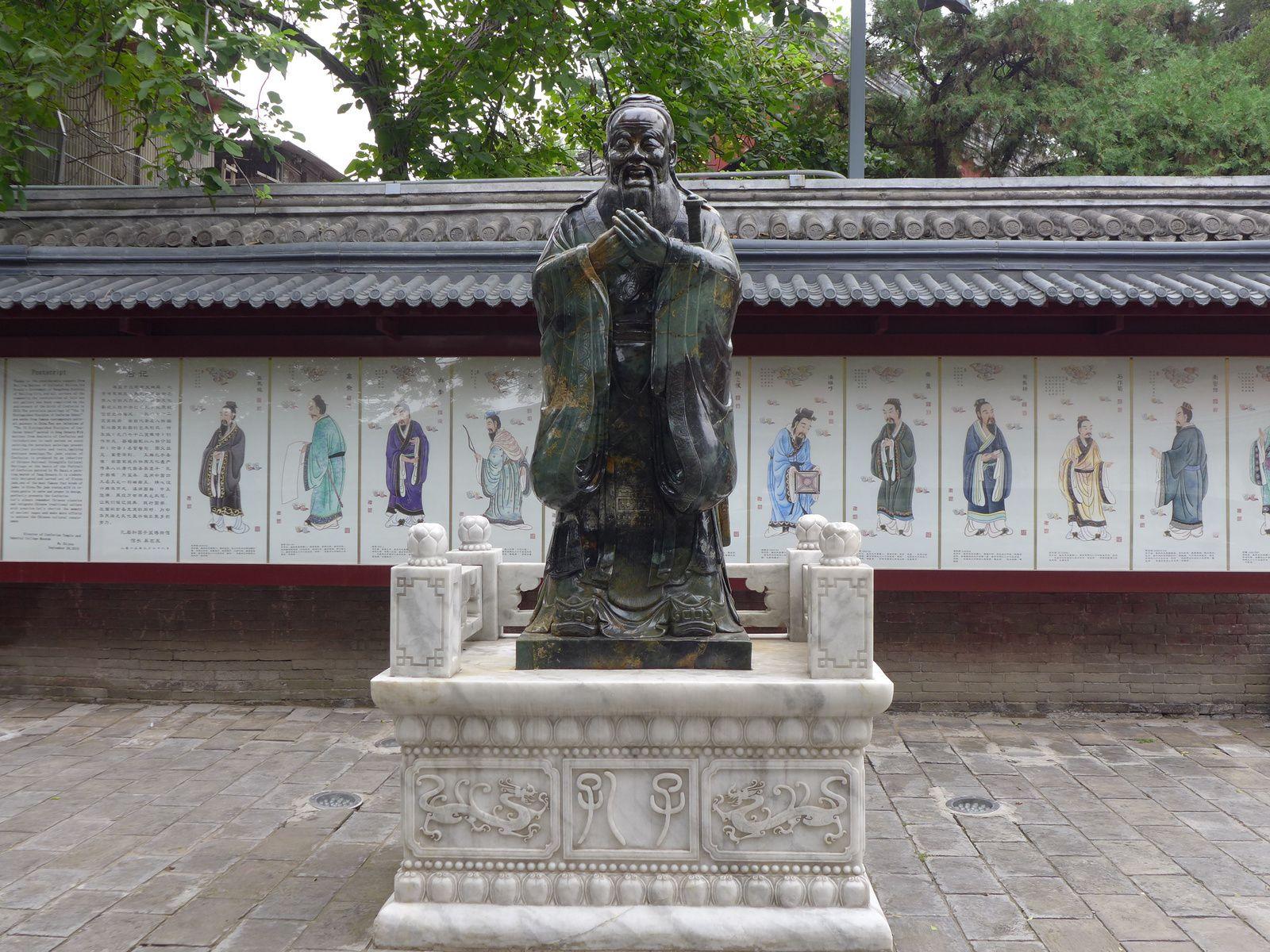 Pékin chez Confucius