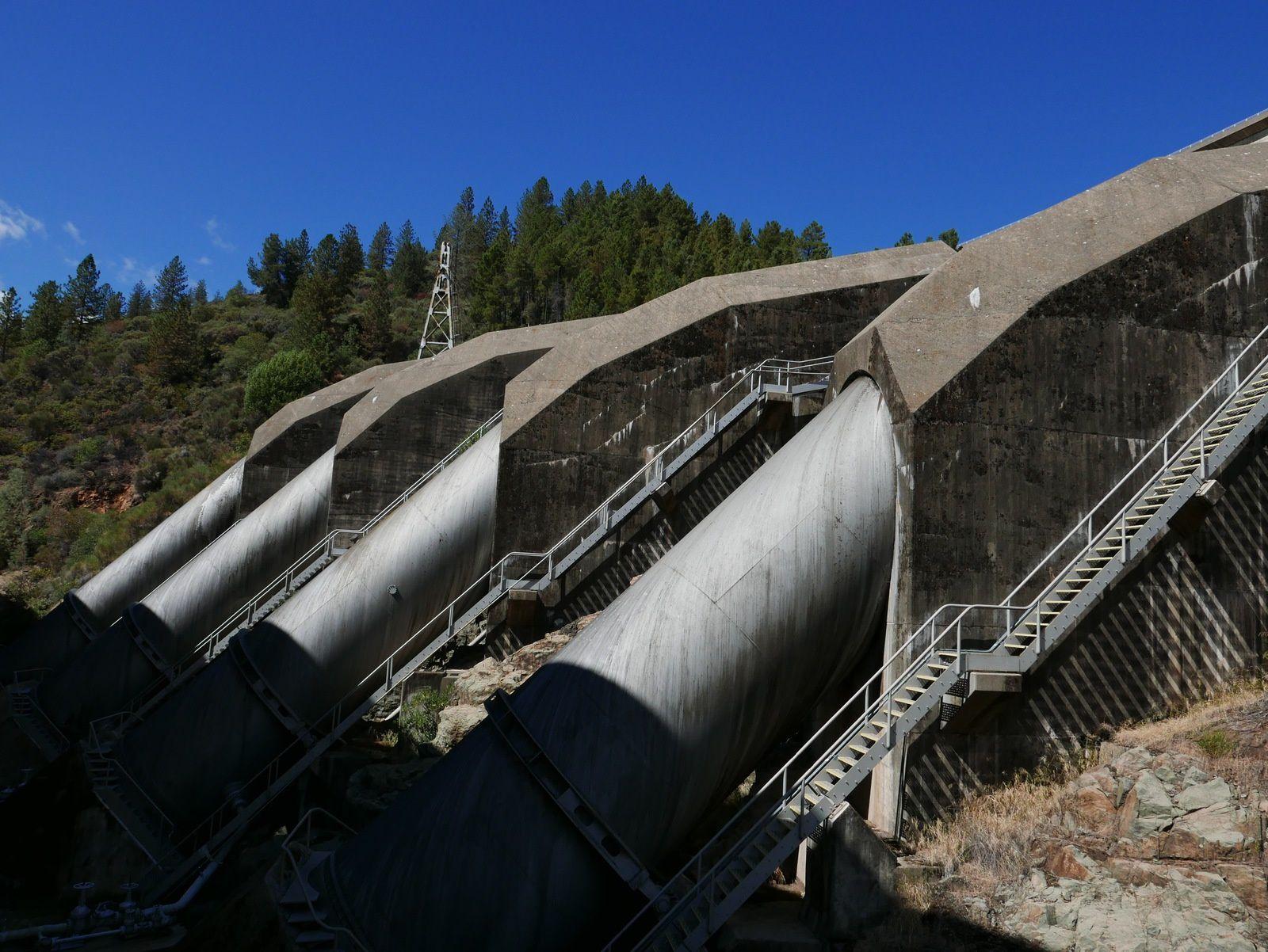 Shasta dam