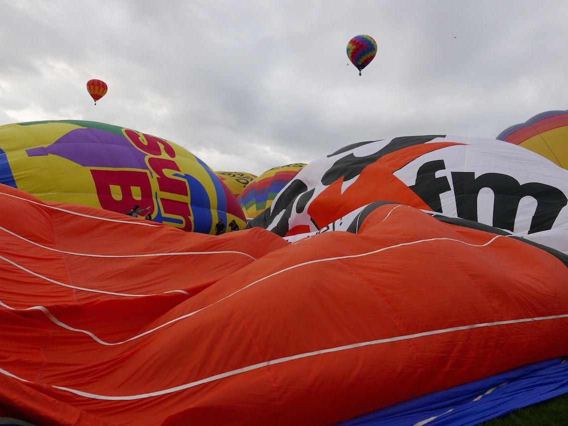 Au coeur de la Balloon's Fiesta d' Albuquerque