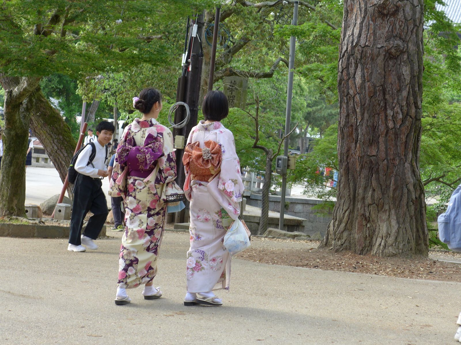 Arrivée Osaka, puis Nara