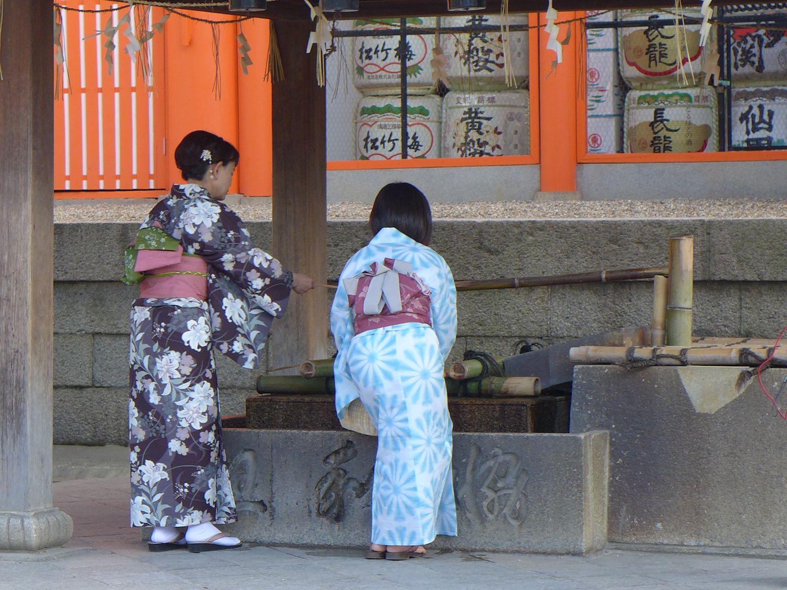 Osaka et Kyoto