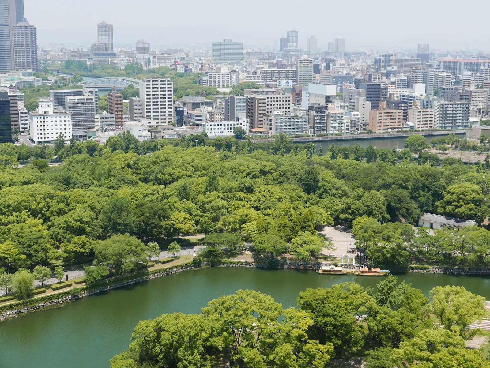Osaka le château