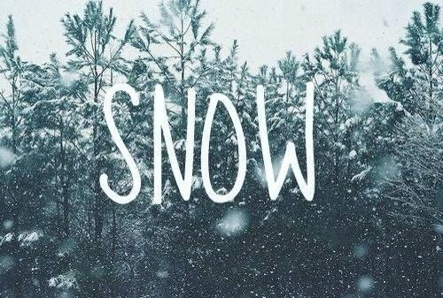 Snow is magical ♥