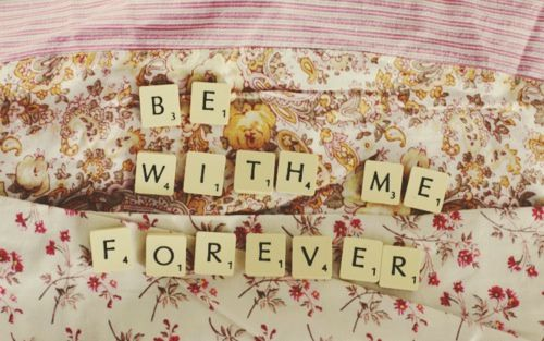 You're perfect for me ♥
