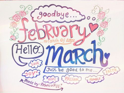 March ♥