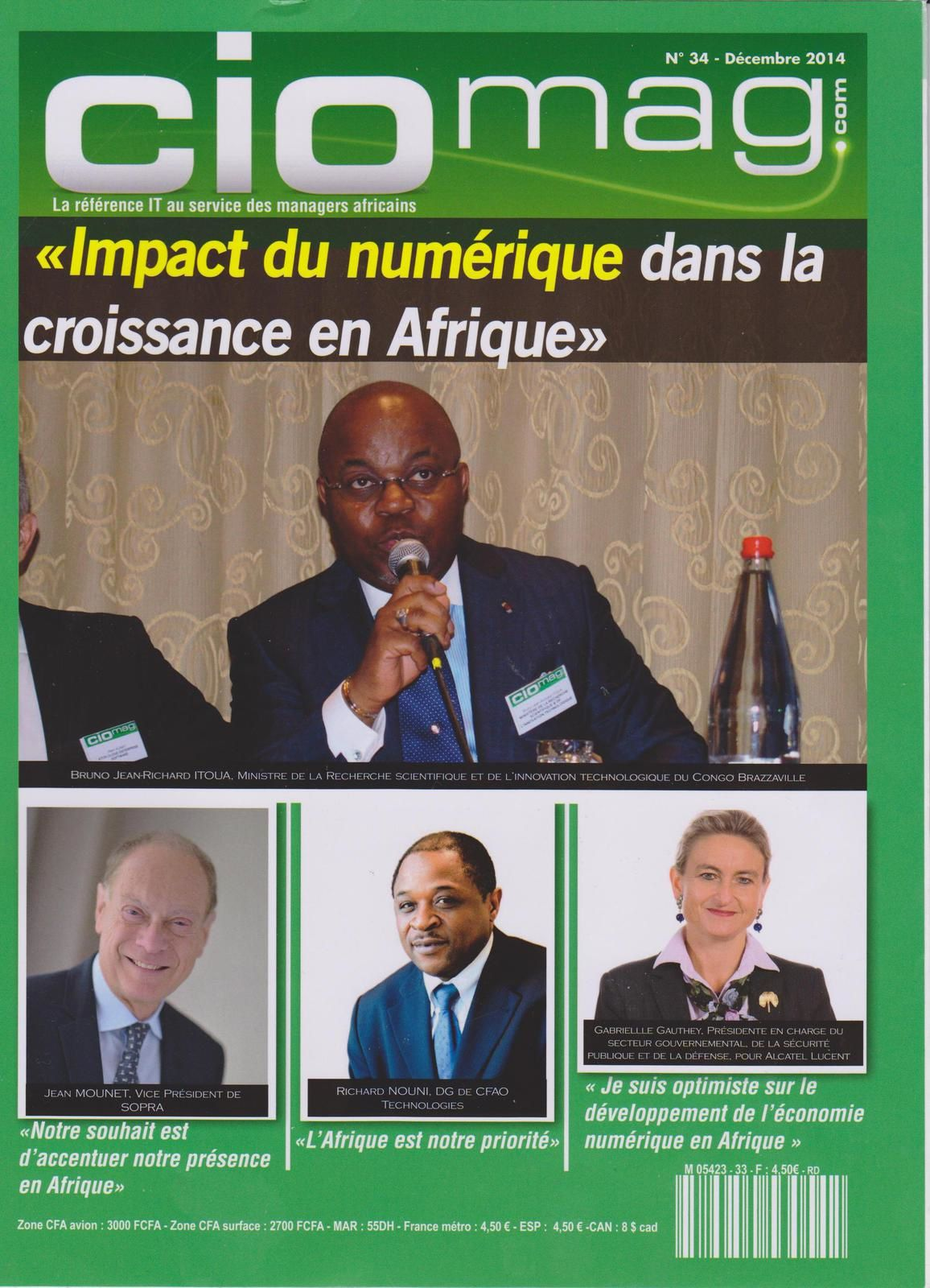 CIO Mag/Décembre 2014