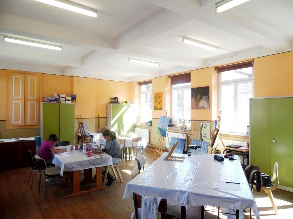 Atelier peinture au Sem'