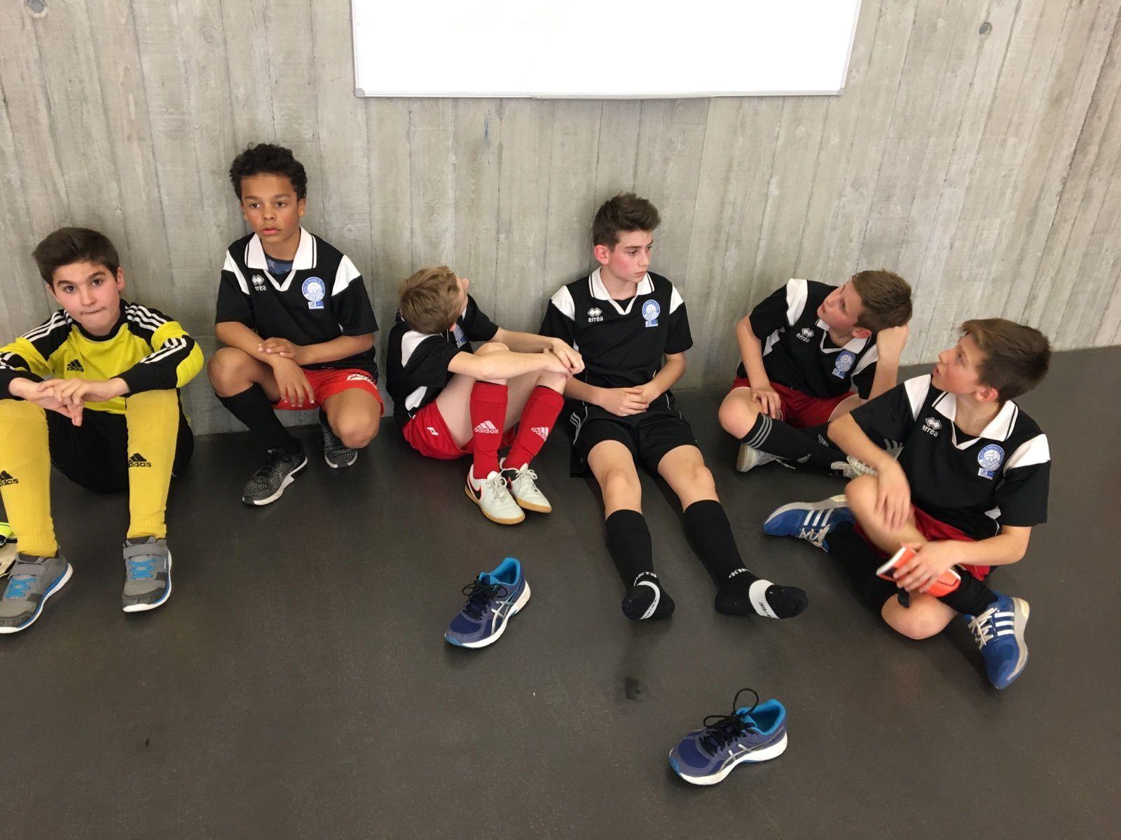 UNSS Futsal : Les benjamins éliminés.