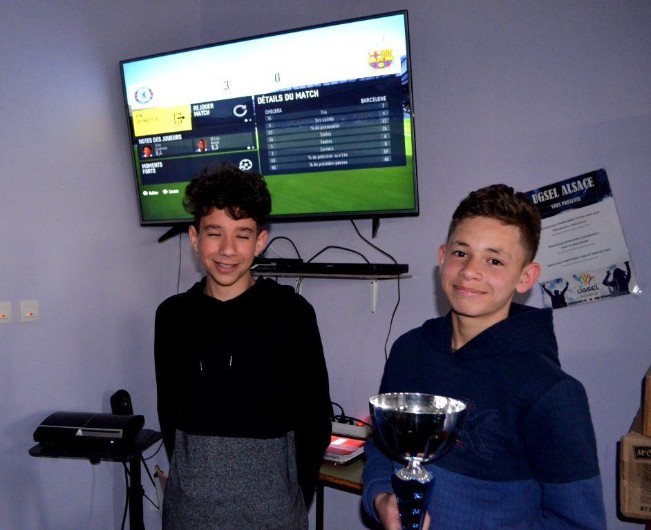 Tournoi Fifa de l'internat du collège : Découvrez les vainqueurs