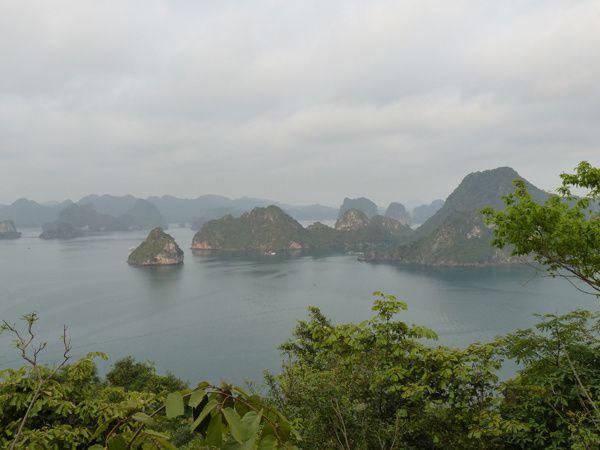 Baie d'Ha long au Vietnam. Avril 2015.