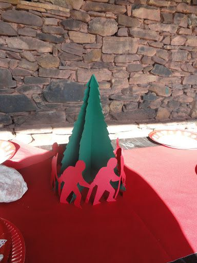Repas de Noël et encierro sur le Jara. Lundi 14 décembre 2015.
