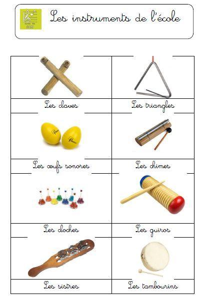 Affiche d'instruments | delfynus.eklablog.com