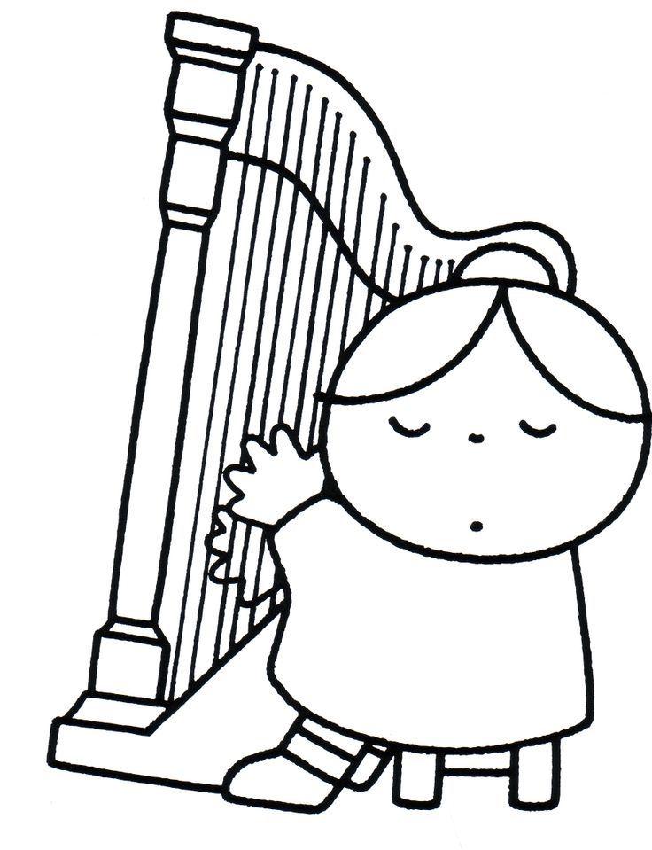 Jouer de la harpe |  juf-joyce.nl