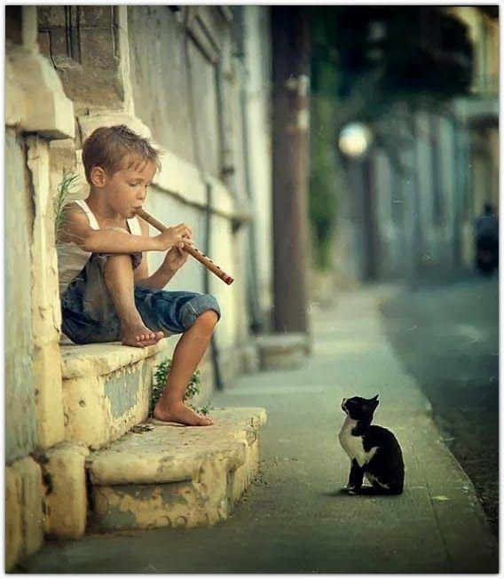 Le joueur de flûte...