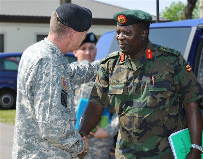 Senior Ugandan General Meets with U.S. Army Africa Leaders&#x3B; Continues Cooperative Partnership