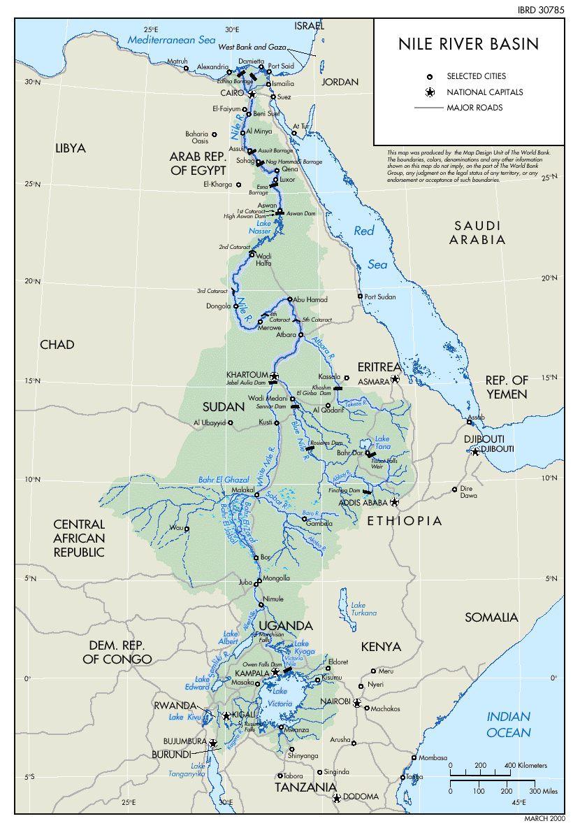 Géopolitique de l'eau dans le bassin du Nil