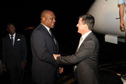 Côte d'Ivoire : Manuel Valls en visite chez son homologue Bakayoko (GriGri)